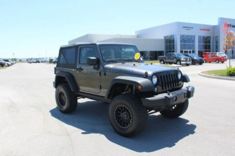 Pre-Owned 2014 Jeep Wrangler Willys Wheeler